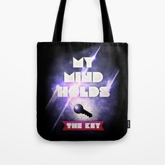 My Mind Holds The Key Tote Bag