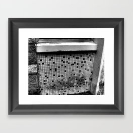 checker Framed Art Print