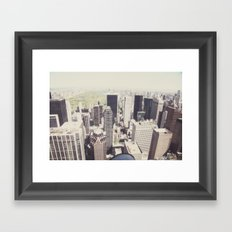 the city::nyc Framed Art Print