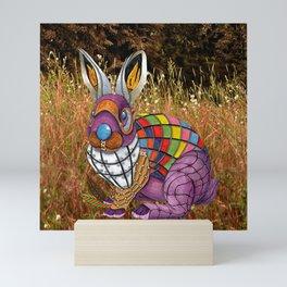 Steampunk Bunny Rabbit Mini Art Print