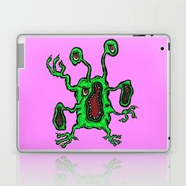 Alien Wiggle Monster - Grouch Laptop & iPad Skin