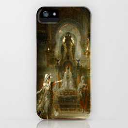 "Gustave Moreau ""Salomé Dancing before Herod"" iPhone Case"