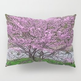 Redbud Reimagined Pillow Sham