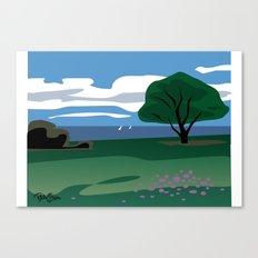 CA coast scene Canvas Print