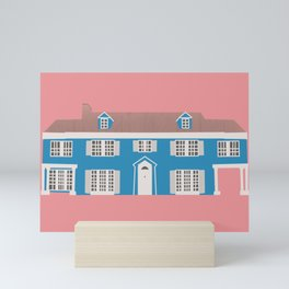 Lady Bird's dream house Mini Art Print