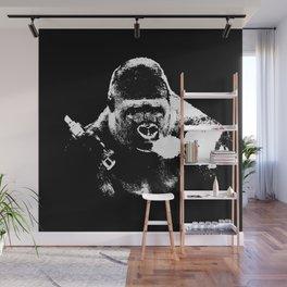 Gorilla Vape Wall Mural