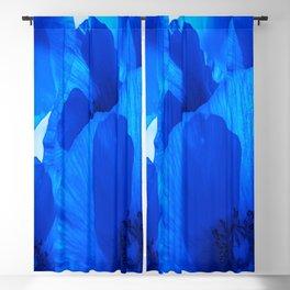 Blue Poppies #decor #society6 #buyart Blackout Curtain