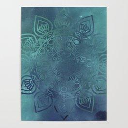 Universe Mandala Poster