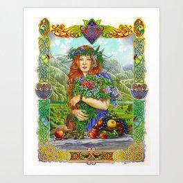 Celtic Summer Art Print
