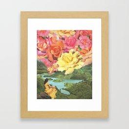 Summer Skies Framed Art Print