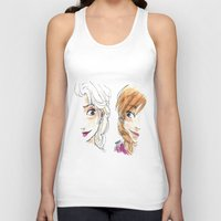 sisters Tank Tops featuring SISTERS. by Maryne.