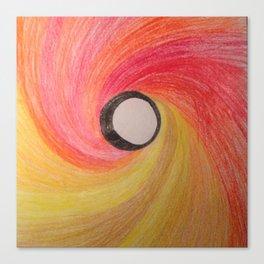 Spiralin'  Canvas Print