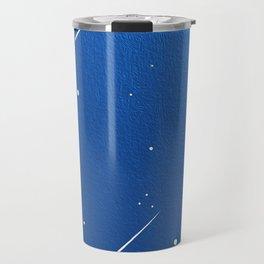 Shooting Stars in a Clear Blue Sky Travel Mug