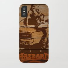Hazzard Wood iPhone X Slim Case