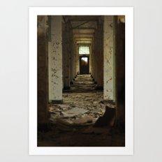 Exit Through the Doorway Art Print