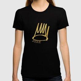 J. Cole Born Sinner Golden Crown T-shirt
