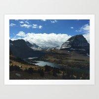 Hidden Lake Art Print
