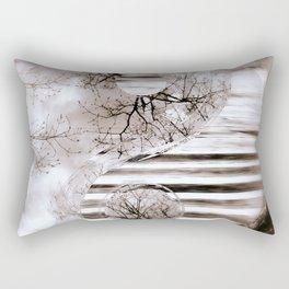Yin Yang softness and vintage Rectangular Pillow