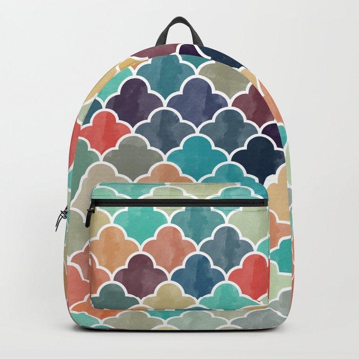 Watercolor Lovely Pattern VVXI Backpack