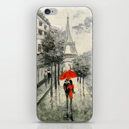 Paris Paris iPhone Skin