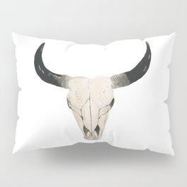 Desert Cow Skull Pillow Sham