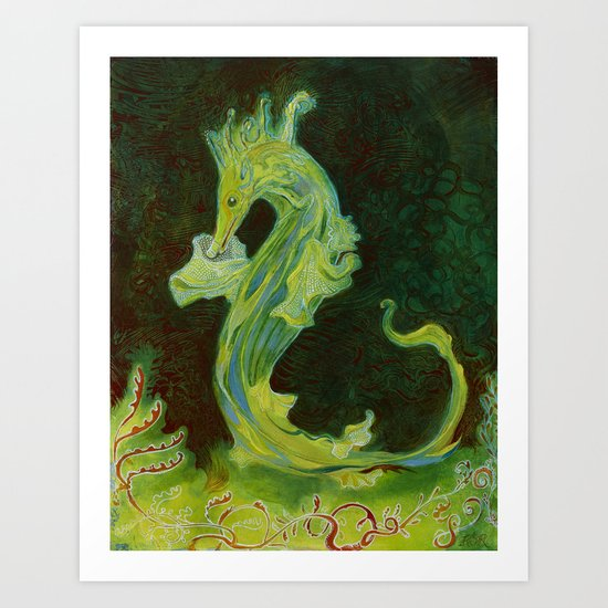 Sea Dragon Art Print