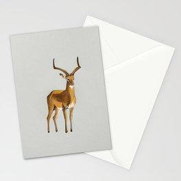 Money antelope Stationery Cards