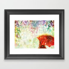 DIAMOND SKY Framed Art Print