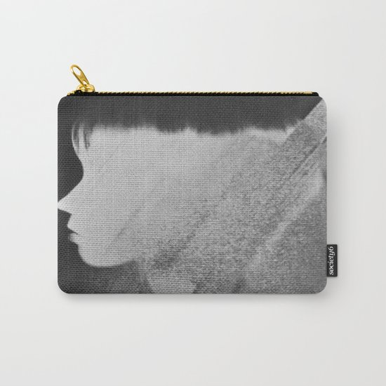 Faceless Charcoal Carry-All Pouch