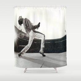 Freddie Mercur-y Poster, Freddie#Mercury Music Poster Wall Art Home Decor Shower Curtain