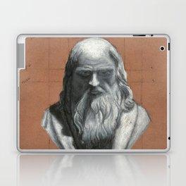 Leonardo Da Vinci Bust Portrait Laptop & iPad Skin