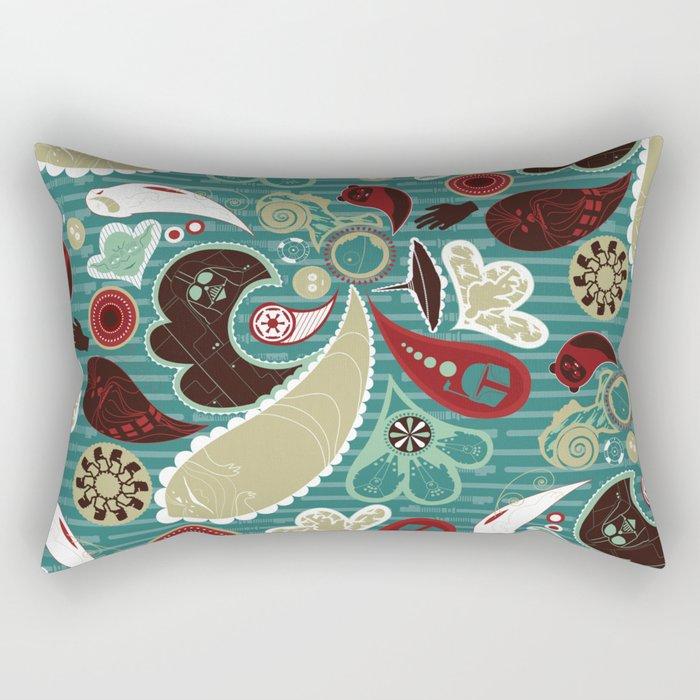 A Long Time Ago In A Paisley Far Far Away Rectangular Pillow