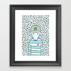 I love New York Framed Art Print