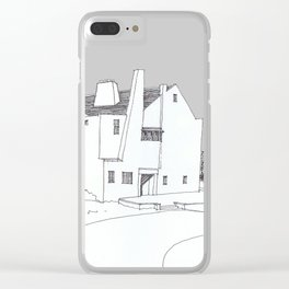 Hill House, Helensburgh Clear iPhone Case