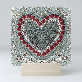 Winter Heart Mini Art Print