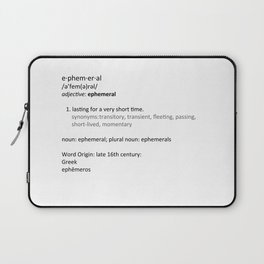Ephemeral Laptop Sleeve