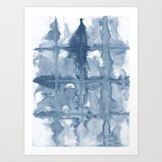 Indigo Art Print