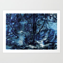 Two Worlds ( are really the same) Art Print