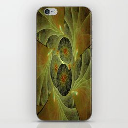 Beautimous With Green iPhone Skin