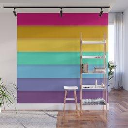 Rainbow flag Wall Mural