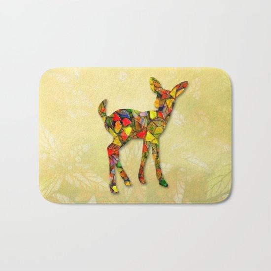 Animal Mosaic - The Fawn Bath Mat
