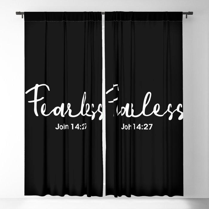 John 14:27, Fearless Blackout Curtain