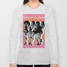 creme de la femme queer lesbian Long Sleeve T-shirt