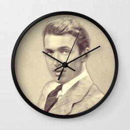James Stewart, Actor Wall Clock