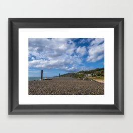 Aguadilla coast 8 Framed Art Print