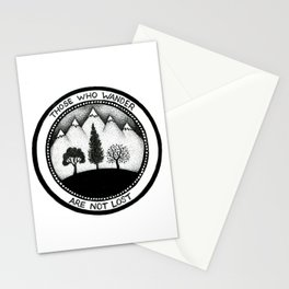 Wanderling Woods Stationery Cards
