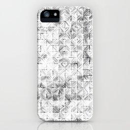 Ink Stitch: White Howlite iPhone Case