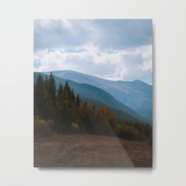 Blue Mountain Metal Print