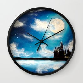 Magical sky Wall Clock