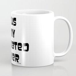 JESUS IS MY DESIGNATED DRIER Coffee Mug